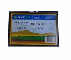 Bateria alkaliczna LUBACell   9V 55Ah do Elektryzatorów
