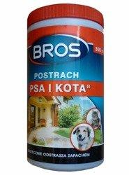 Granulki odstraszające psy i koty POSTRACH 300ml Bros