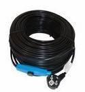 Kabel grzewczy przewód grzejny 48m z termostatem NIEBIESKI / HORIZONT