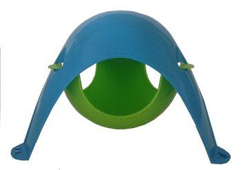 Sputnik hamak niebiesko - zielony (podstawa - kopuła)