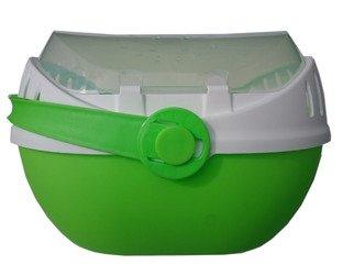Transporter ELMO mały biało - zielony