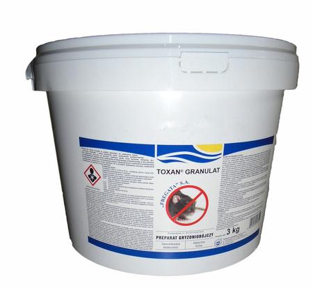 Granulat 3kg TOXAN