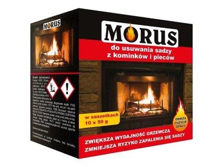 MORUS - proszek do usuwania sadzy saszetki 10x 50g