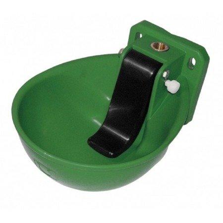 Poidło dla bydła K71 zielone z językiem blokowanym przepustowość 11l/min