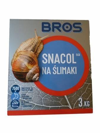Snacol 05GB 3kg na ślimaki Bros