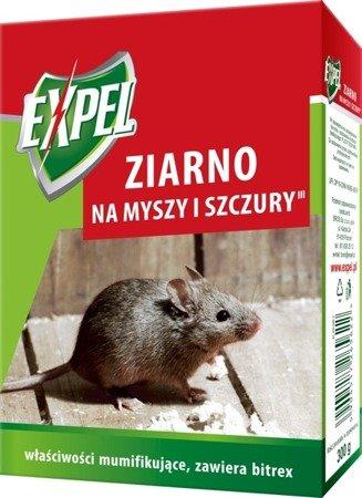 Trutka zbożowa na myszy 300g EXPEL