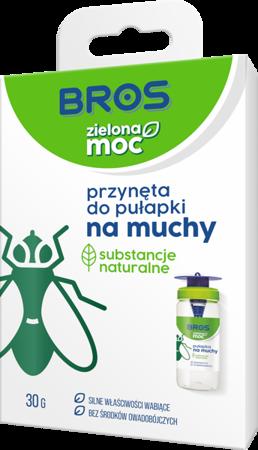 Zielona Moc  Przynęta do pułapki  na muchy (uzupełnienie 20g)  Bros